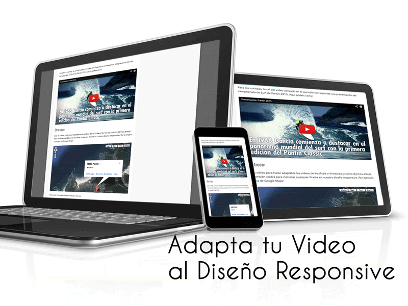 video flexible para diseño responsive