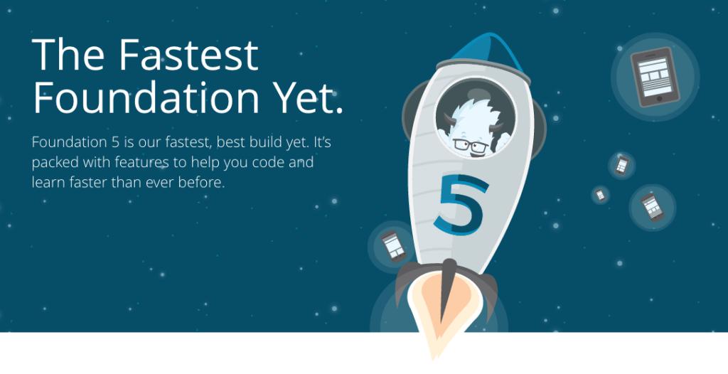 Foundation 5: aún más rápido