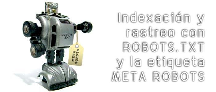 Diferencia entre usar robots.txt y la etiqueta META ROBOTS
