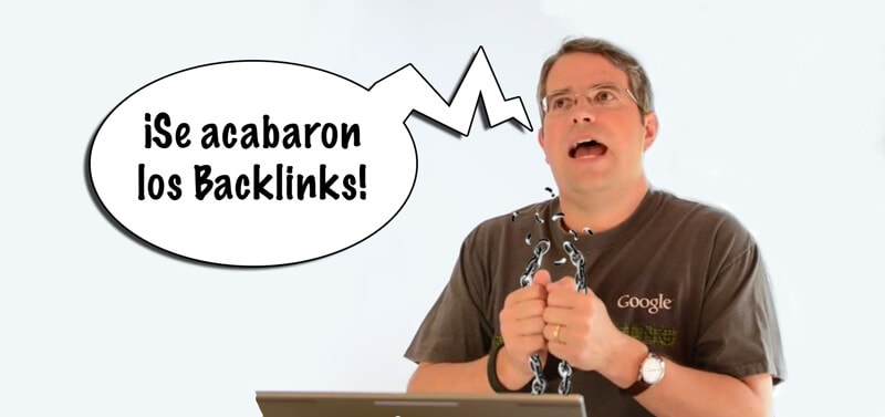 Matt Cutts anuncia la pérdida de valor de los backlinks en SEO