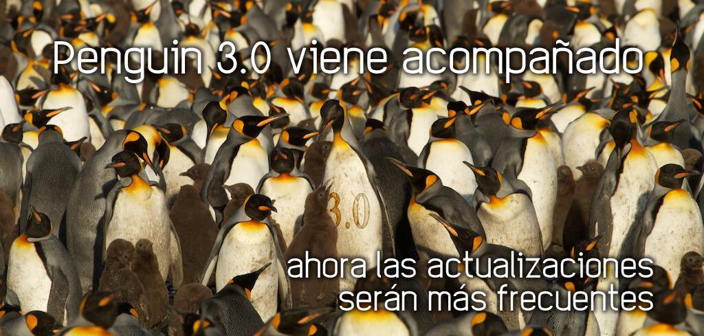 Penguin 3.0 viene preparado para actualizaciones más frecuentes